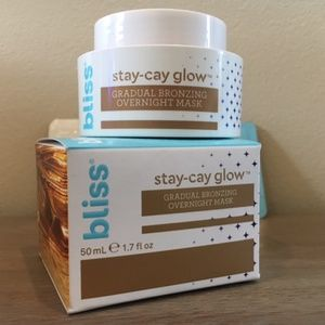 5/$25 - BLISS stay-cay glow bronzing mask